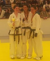 2013-11-16 TaeKwon-Do Triona O'Sullivan wins sparring gold at the German Internationals