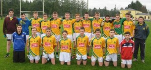 2013-11-17 Millstree U16 Footballers - beaten by Kilmeen in the County League Final