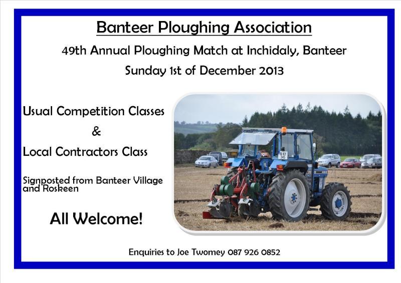 2013-11-21 Banteer Ploughiung - poster_-800