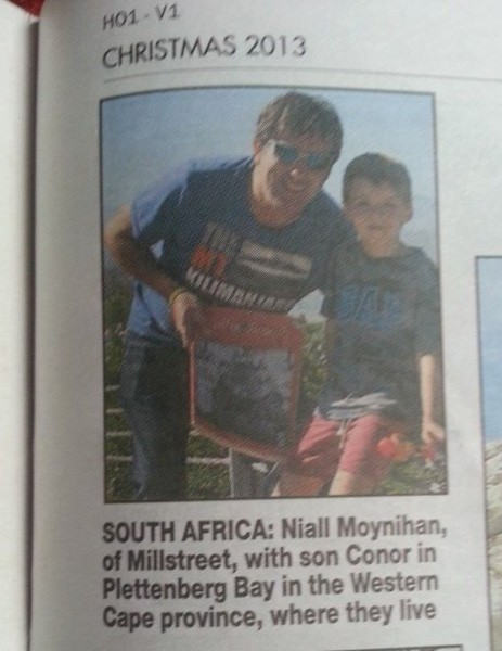 2013-11 Niall and Conor Moynihan appear in the HollyBough 2013