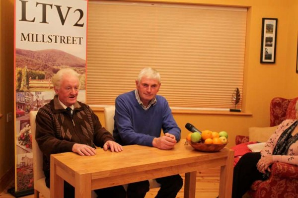 Brendan Murphy and Jerry O'Riordan appearing on Programme 1 of our new 2013-2014 LTV2 Season which will be broadcast live at 10.00 pm on Thursday.  Click on the images to enlarge.  (S.R.)