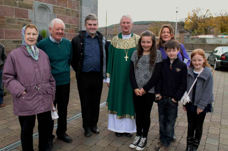 6Bishop Ray Browne Greets the People of Millstreet 2013 -800