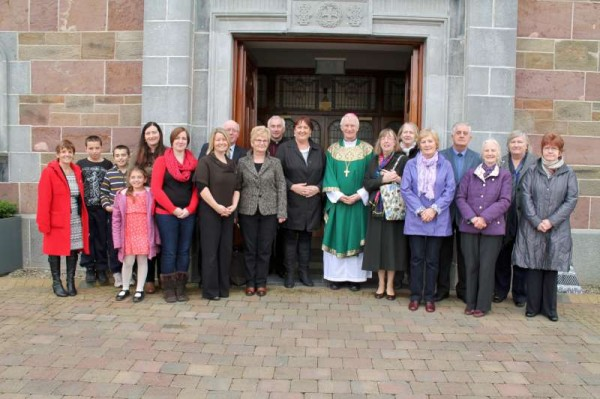 9Bishop Ray Browne Greets the People of Millstreet 2013 -800