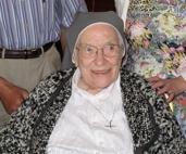 2011 Sr.Paschal IJS - on her 100th birthday