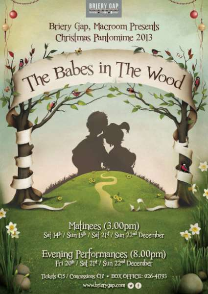 2013-12-05 Briery Gap - Babes in the Wood Pantomime - poster