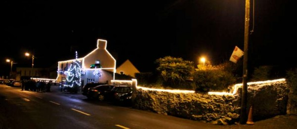 A truly spectacular Christmas Lights Launch took place outside The Pub in Carriganima on Friday, 13th Dec. 2013.  This is just one of the many images we shall be sharing very shortly.  (S.R.)