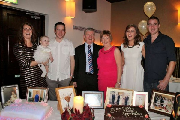 A Double Celebration at Wallis Arms Hotel