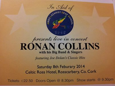 2014-02-08 Ethiopia Deaf Concert - Ronan Collins and his Big Band in the Celtic Ross Hotel