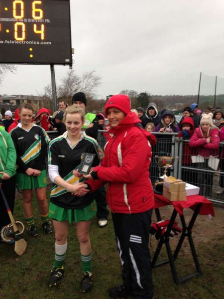 Lydia O'Reilly, Player of the Match-800