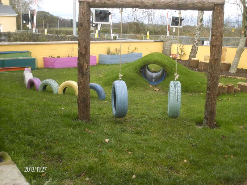 New Garden at Rathcoole Playschool 2013