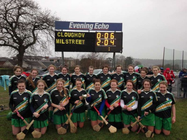 The Under-16 Millstreet Team who are County Champions.   We thank Tony McCaul for the excellent picture.  Click on the image to enlarge.  (S.R.)