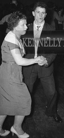 1960 Hannah Mary Daly at a dance in Millstreet