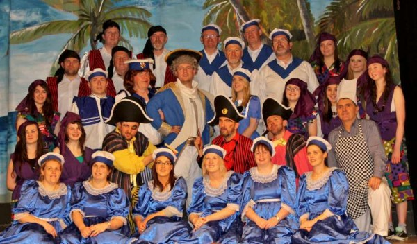 "Some of the very talented Cast of ""Robinson Crusoe"" - Rathmore's 2014 Pantomime which begins on Sat. 25th January at 8pm.  More pictures to follow later.  Click on the images to enlarge.  (S.R.)"