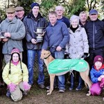 2014-01-04 At Millstreet Coursing Clubs Centenary Meeting the Working Members Tanyard Stake was win by Bower Dynamo-800