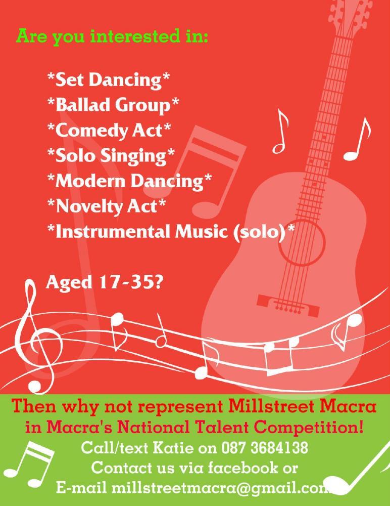 2014-01-08 Represent Millstreet Macra in Macra