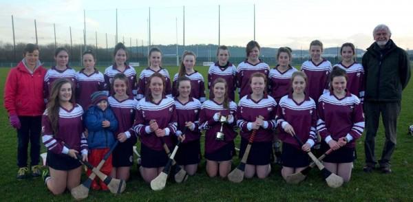 2014-01-18 Millstreet Community School U16A Camogie Team, Munster Champions