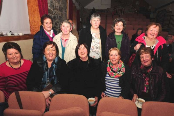 The  Voice of the Glen opens in the Glen Theatre on this Saturday night at 8pm. Involving 66 singers nominated by clubs, groups and business outlets from Cork County and beyond, the hosting promises much entertainment during the coming weeks. At a launch, Millstreet Community Singers were well represented.  We thank John Tarrant for the photograph and informaton.  Click on the image to enlarge.  (S.R.)