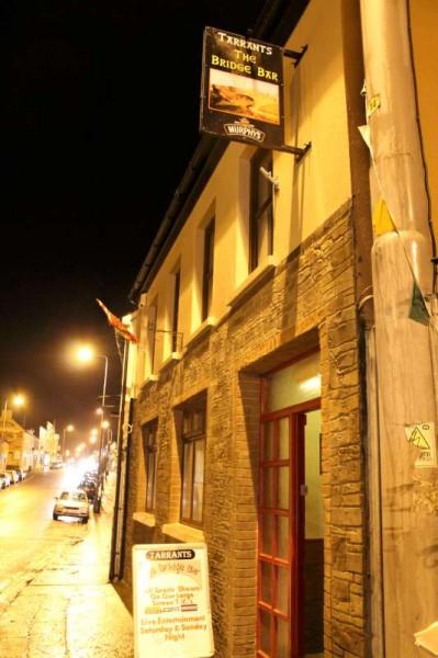 Tarrant's Bridge Bar, Millstreet where the special presentation event took place on Friday night.