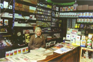 2014-02-10 Mary Cronin in her shop on Main Street