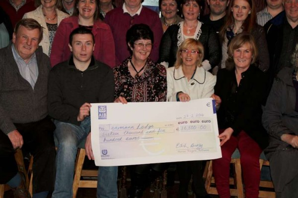 Presentation of Cheque on 27/02/2014 in Rathmore