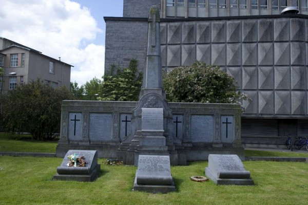 IRA Memorial in UCC, outside the Science Building, formerly the old Jail