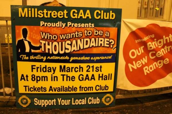 17Thousandaire Event at Millstreet GAA Hall 2014 -800