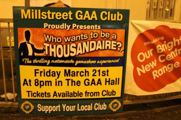 18Thousandaire Event at Millstreet GAA Hall 2014 -800