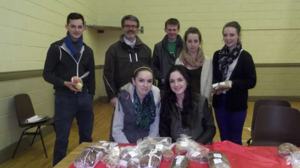A very successful Cake Sale at Millstreet GAA Community Hall in aid of the Community School Students who are scheduled to travel to Lourdes later in the year.