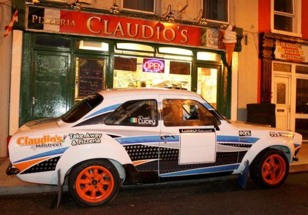 Preparing for West Cork Rally 2014