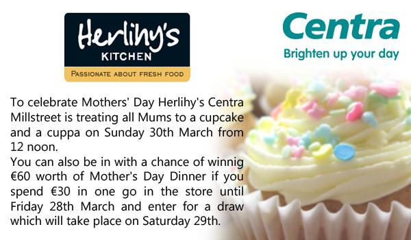 2014-03-23 Herlihy's Centra - Mother's Day treat