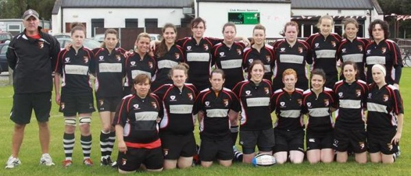 2014-03-30 Ballincollig Ladies Rugby team