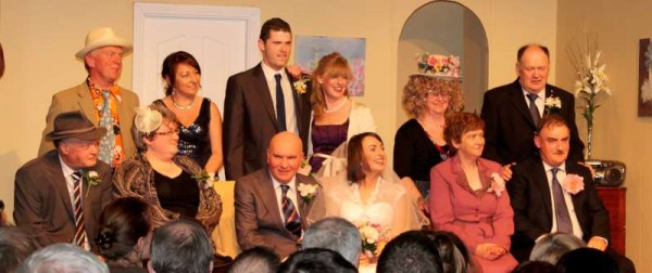 "Banteer Drama Group presents a truly superb production of Sam Cree's ""Wedding Fever"" at Banteer's Glen Theatre.   Click on the images to enlarge.  S.R.)"