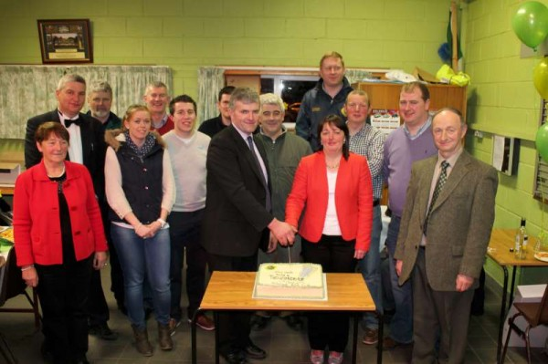 Celebrating the superb success of the Thousandaire Event on Friday night at Millstreet GAA Community Hall.  Click on the images to enlarge.  (S.R.)