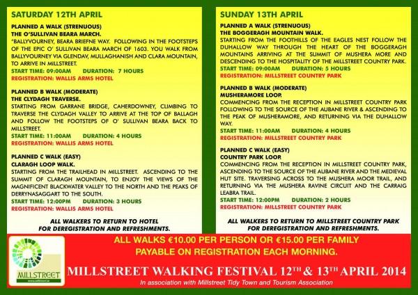 Millstreet Walking Festival
