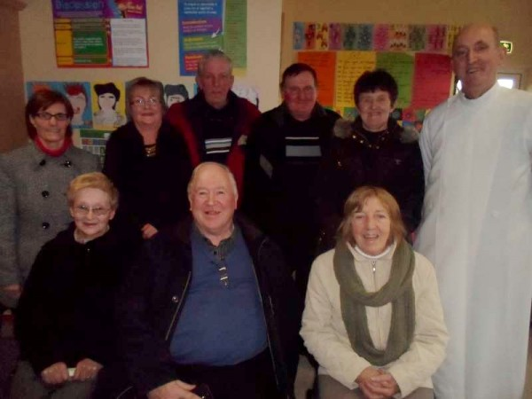 """We had a fabulous Grandparents Day prayer service in our school on Feb 28th. Attached are photos of our precious Grandparents,"" says Elaine Cronin, Principal, Hollymount N.S., Co. Kerry to whom we extend our thanks for the picture and the caption.   Click on the image to enlarge.  (S.R.)"
