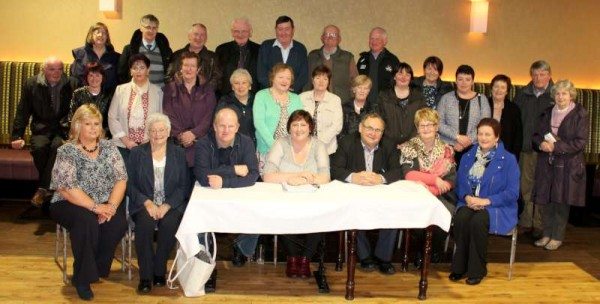 The A.G.M. of Millstreet Lotto Committee took place in the Wallis Arms Hotel on Friday, 4th April 2014.   Tremendous credit is due to the wonderfully dedicated Committee whose efforts have been of such great benefit to so many excellent Organisations in the Millstreet area.   The A.G.M. was followed by a splendid meal at the Wallis Arms presented so creatively.   Marie Twomey superbly coordinated a most enjoyable sing-song to conclude the annual occasion.  Click on the images to enlarge.  (S.R.)