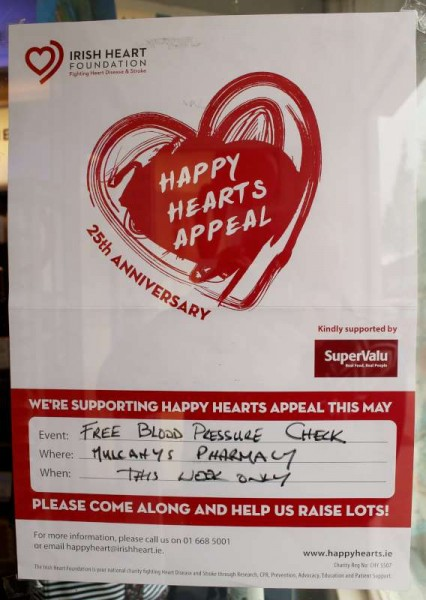 1Mulcahy's Pharmacy Happy Hearts Week 2014 -800