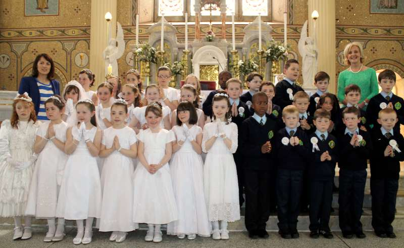 First Holy Communion in Millstreet on 17th May 2014