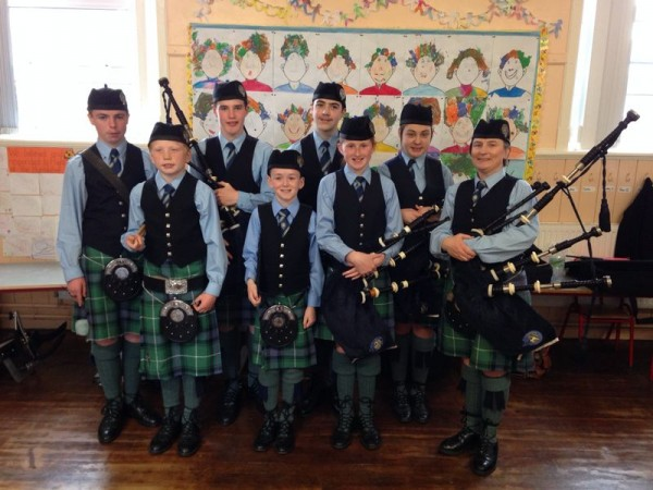 2014-05-18 19.48.44 Cullen Pipe Band at Munster Mini Bands
