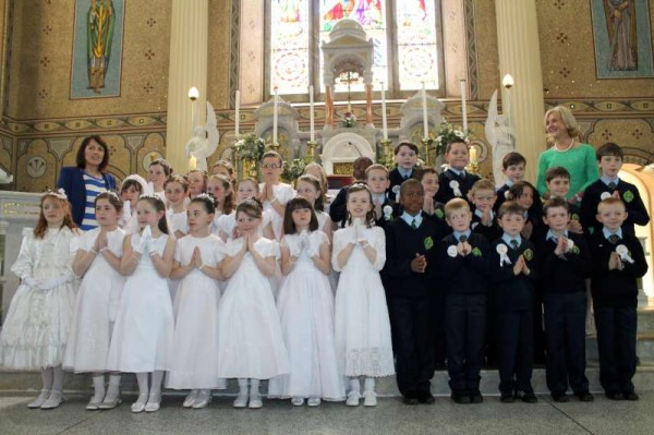 31Millstreet First Holy Communion 17th May 2014 -800