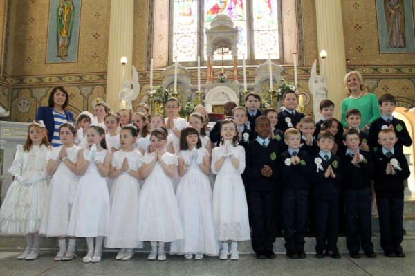32Millstreet First Holy Communion 17th May 2014 -800