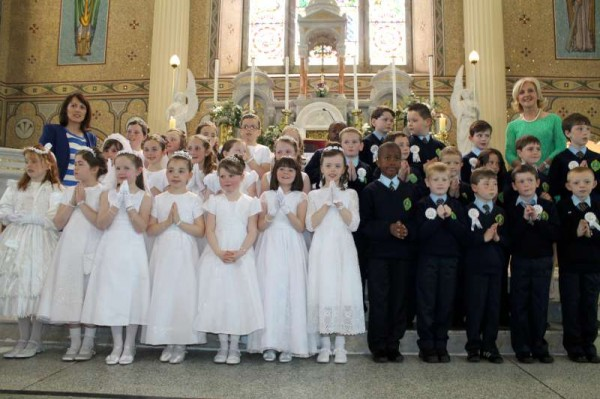 34Millstreet First Holy Communion 17th May 2014 -800