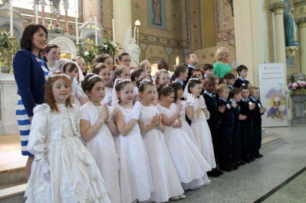 48Millstreet First Holy Communion 17th May 2014 -800