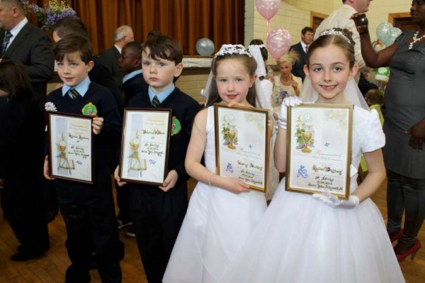 75Millstreet First Holy Communion 17th May 2014 -800