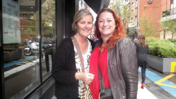 Meeting Niamh Kavanagh in Dublin in May 2014