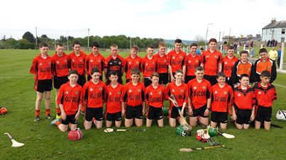 Duhallow Under 14 Hurling team that will be competing in the Premier 1 County Final next Sat 24th @ 5pm in Pairc Ui Rinn against Midleton . Best of luck to Millstreet players Neil Flahive and Daniel O Mahoney.