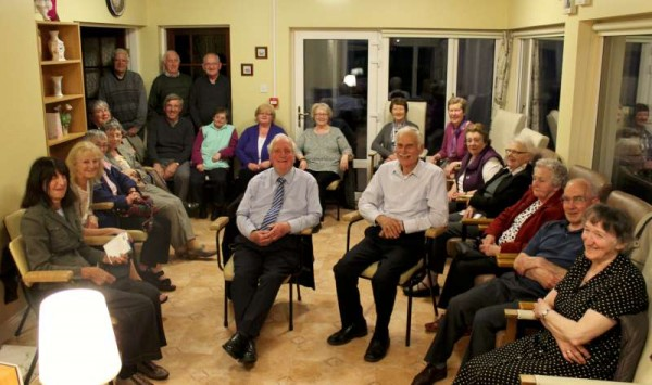Pictured is a section of the large attendance at Friday's Millstreet Gramophone Circle evening of very fine music and conversation.  The new season of monthly meetings resumes in August when Bernard O'Donoghue will be our Guest Presenter.  Click on the image to enlarge.  (S.R.)