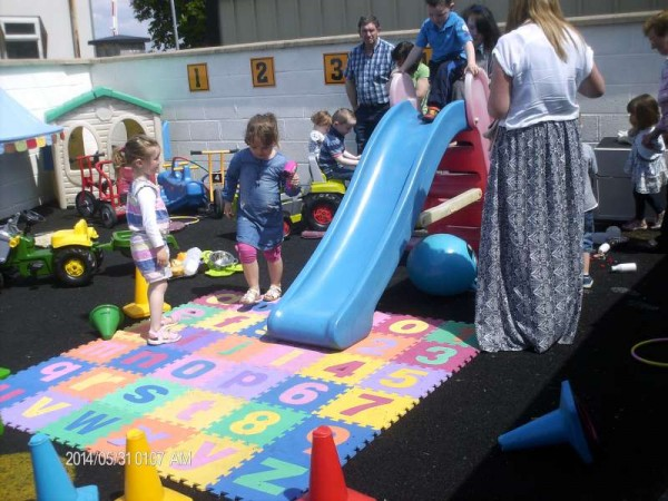 We thank Maura Foley for sharing the images relating to the recent Open Day 2014 at Rathcoole Playschool.  Click on the images to enlarge.  (S.R.)