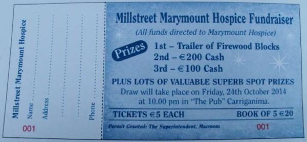 Millstreet Marymount Hospice Fundraiser 2014