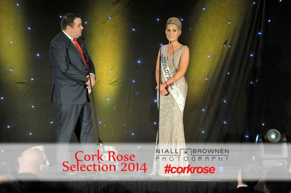 2014-06-13 Blathnaid O'Donoghue on stage at the Cork Rose Selection